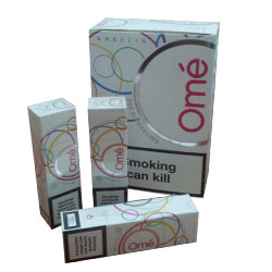 Karelia Ome' White SuperSlims Cigarettes (Tar 1mg Nicotine 0.1mg)