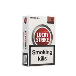 Special Price-Lucky Strike Red  King Box Cigarette