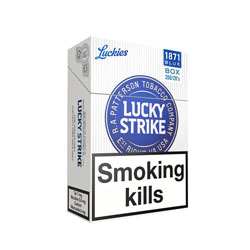Special Price-Lucky Strike Original Silver/Blue Cigarette