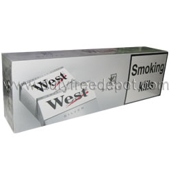 West Silver/Light Cigarettes