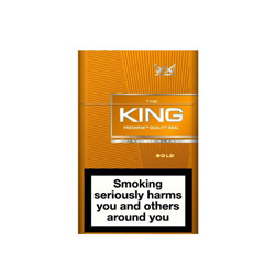 The King Gold King Size Cigarettes