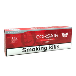 Corsair Red 100's Cigarettes