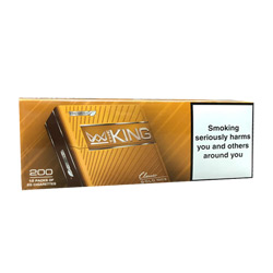The King Gold 100's Cigarettes