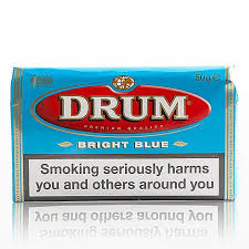 Drum Bright Blue tobacco (5 packs of 50 gr.)