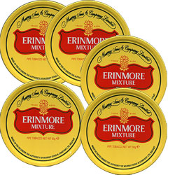 Erinmore Mixture Tobacco (5 packs of 50 gr.)